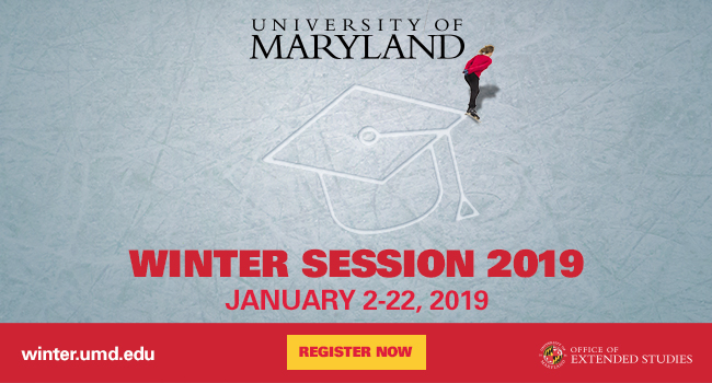 UMD Winter Session 2019