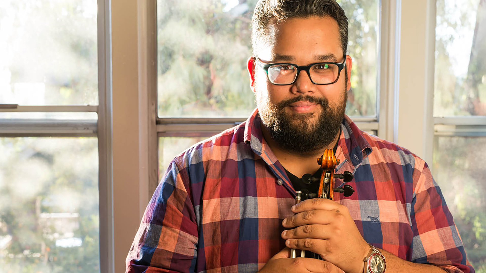 Terps Hear From Violin Prodigy and Social Justice Advocate Vijay Gupta on Oct. 21