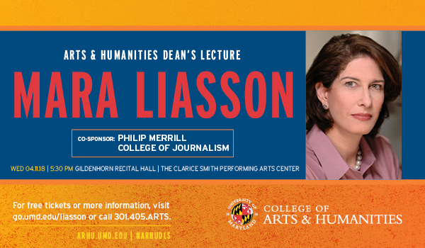 Arts & Humanities Dean's Lecture