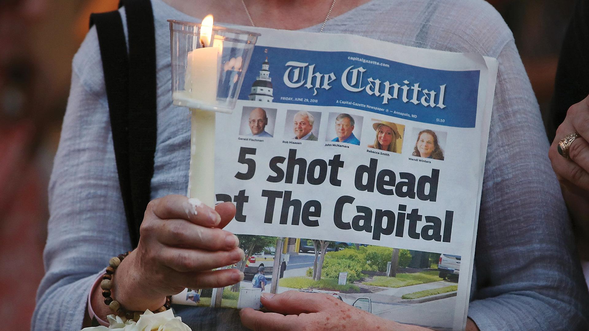 UMD to Memorialize Capital Gazette Shooting Victims