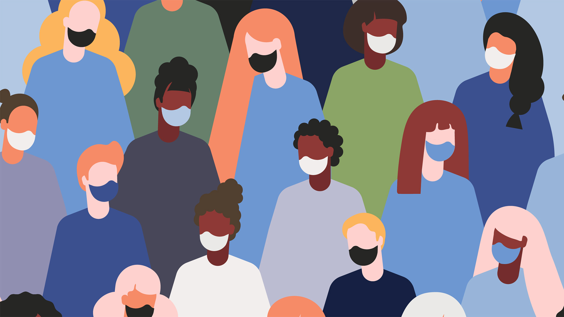 This week's Public Health Research at Maryland forum will seek to turn what we've learned during the current pandemic and period of social upheaval into useful knowledge to combat future public health crises rooted in challenges ranging from climate change to pathogens to societal inequity. (Illustration by iStock)